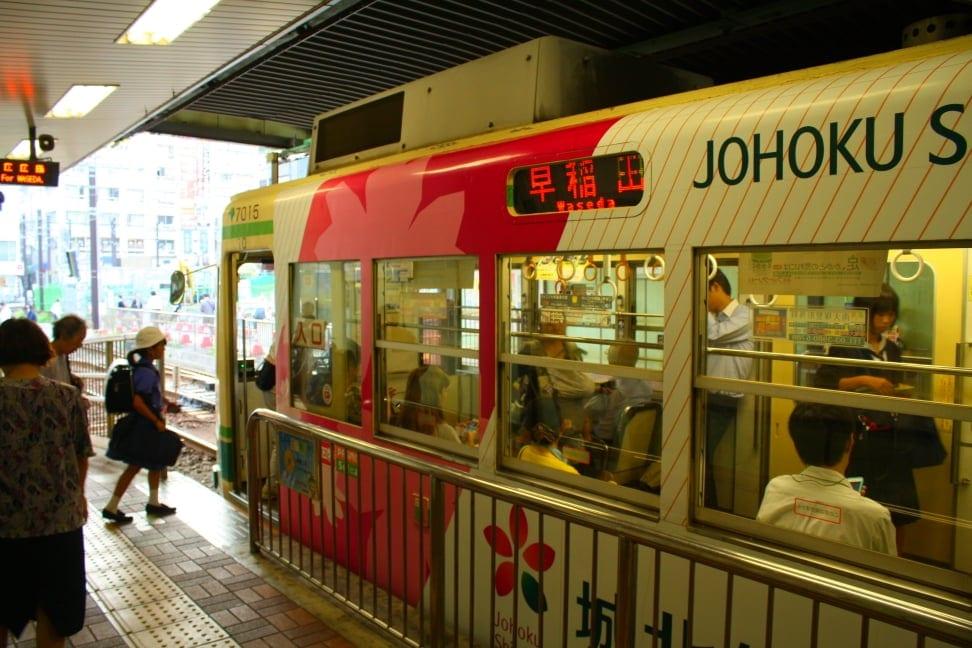 WMB Travel Pro Entering_tram Podcast: Toden Arakawa Tramway Tokyo