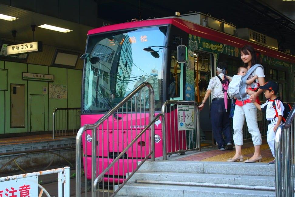 WMB Travel Pro Mum-with_kids Podcast: Toden Arakawa Tramway Tokyo