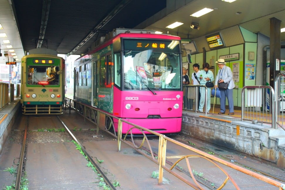 WMB Travel Pro Two_Connecting_Trams Podcast: Toden Arakawa Tramway Tokyo