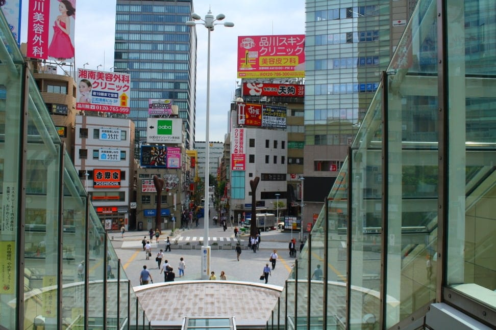 WMB Travel Pro View_from_station_entrance Podcast: Toden Arakawa Tramway Tokyo