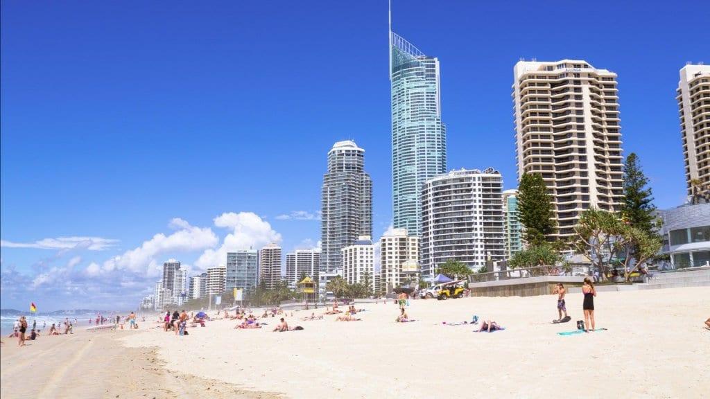 Gold Coast Surfers Paradise Beach
